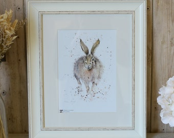 Limited Edition Heather Hare print
