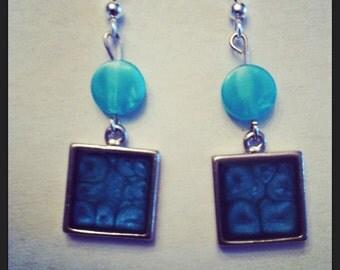 Fantasy Art earrings