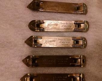 Church key, Hamm's Beer, Metal