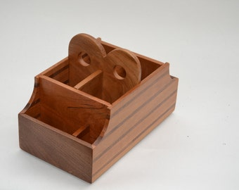 Wooden Media Caddy
