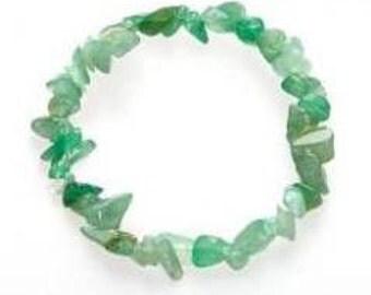 Jade Chips Elastic Bracelet