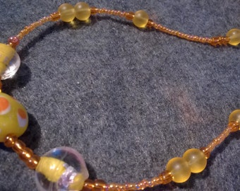 Sunshine Yellow Necklace
