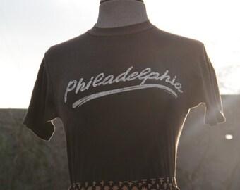 vintage black favorite tshirt philadelphia xs/s