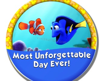 Most Unforgettable Day Ever! Finding Dory Button