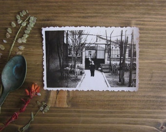 Vintage photo of child, Black and white photo, Kid old photo, Mid century photo, Retro photography, Vintage photo