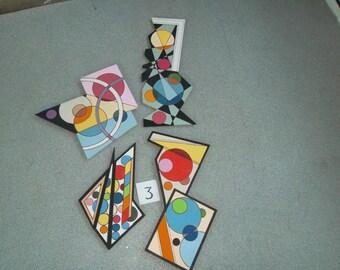 madi style  set of four