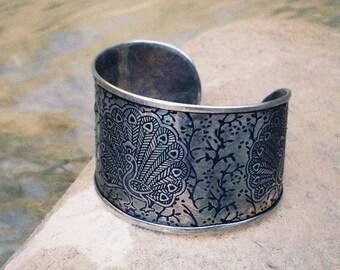 """Brass adjustable bracelet """"Saraswati"""""""