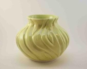 Porcelain Pear Colored Vase
