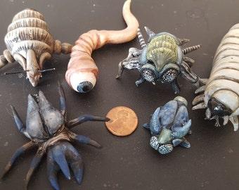Creepy bugs