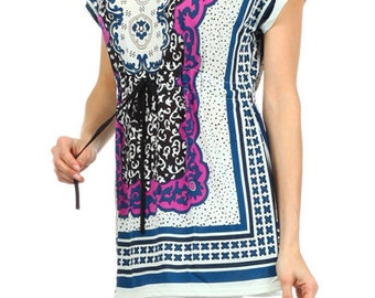 Plus SIze print tunic