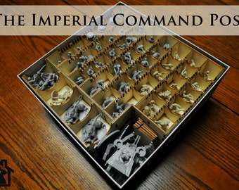 The Imperial Command Post compatible with Imperial Assault™
