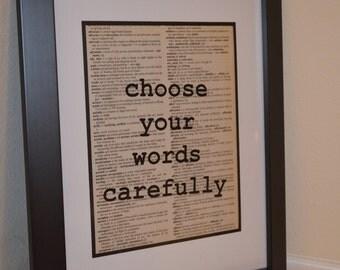 Dictionary Print