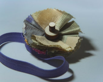 Wildflower-Sunset, elastic band for hair
