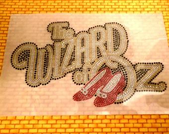 Wizard Of Oz Rhinestone Applique