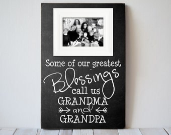 grandparents picture frame grandparents frame gift grandpama frame grandpa frame nana gift papa gift wedding gift createframes