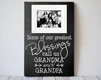 grandparents picture frame grandparents frame gift grandpama frame grandpa frame nana gift papa gift wedding gift createframes