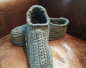wool slippers for men