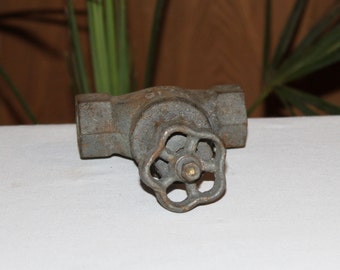Vintage water faucet. Cast iron.  Made in USSR 70-s