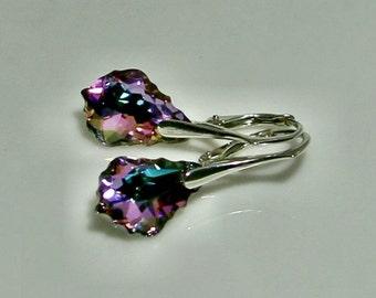 Earrings Crystal Swarovski - 6 colors