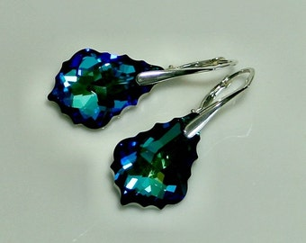 Earrings Baroque Swarovski 22 mm - 14 colors
