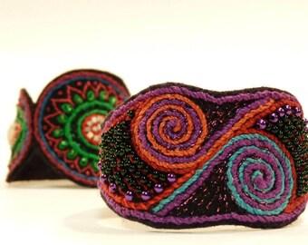 Textile Cuff Bracelets