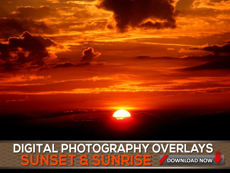 how to create sunset on picture photo shop