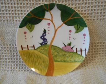 Evelyn,s Garden 8 inch plate.