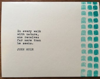 John Muir Greeting Card