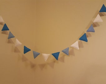 Baby Nursery Decor Padded Felt Bunting