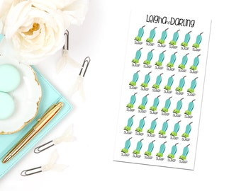 Kawaii Vacuum Planner Stickers