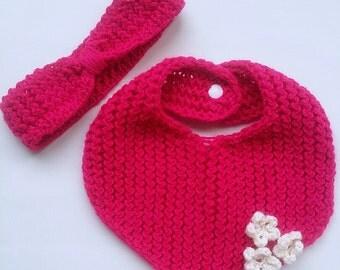 Scarf and headband set
