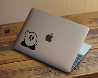 Kirby Macbook Decal