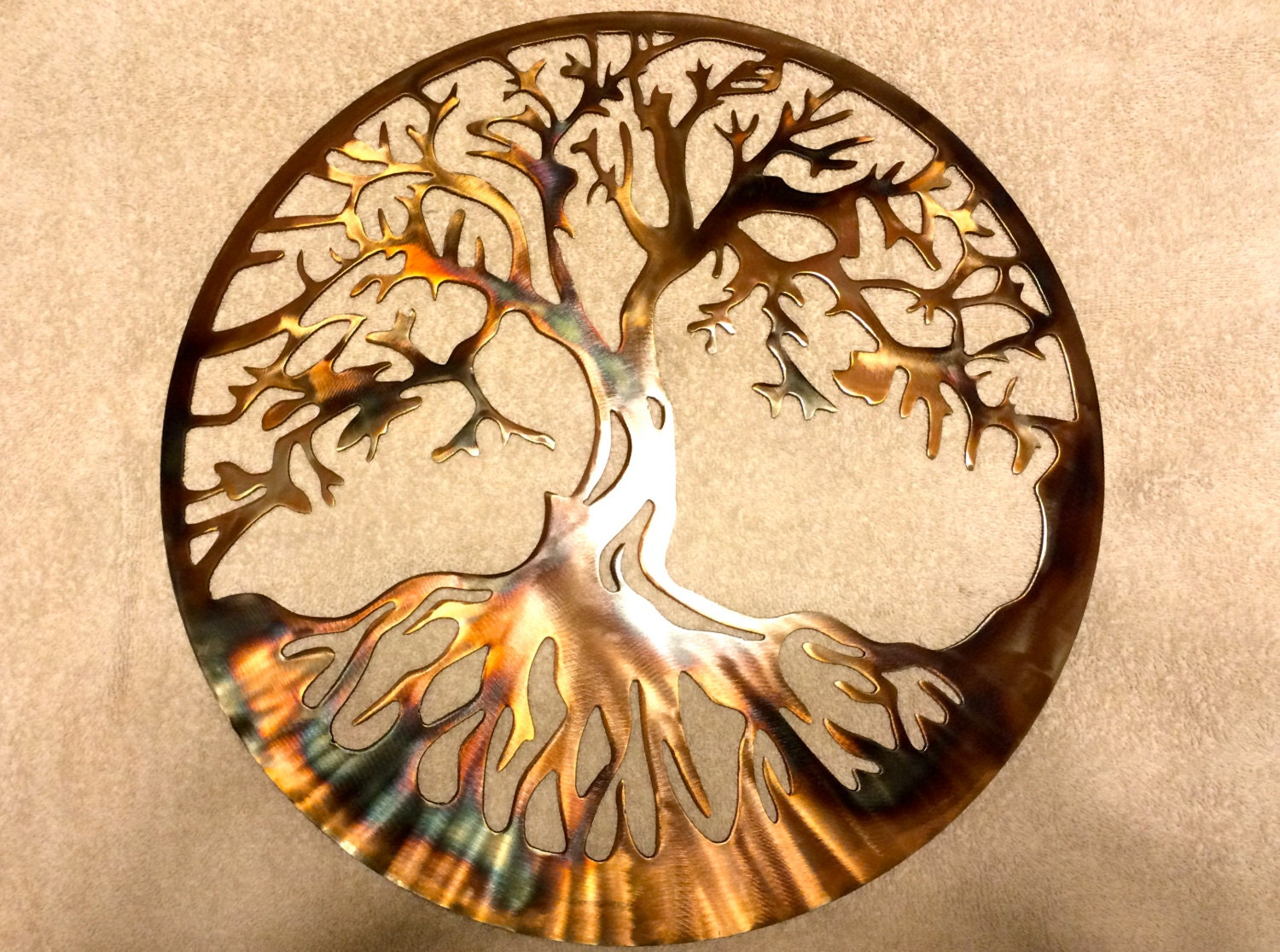 Plasma Cut Metal Wall Art - Elitflat