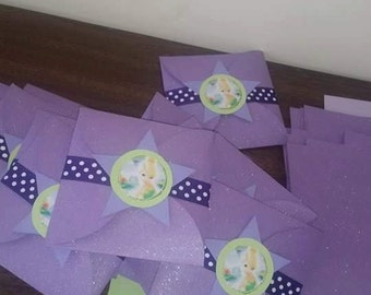 24 Tinkerbell Party Invitations