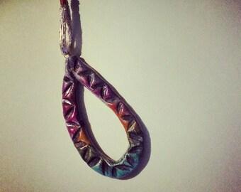 terracotta Teardrop necklace