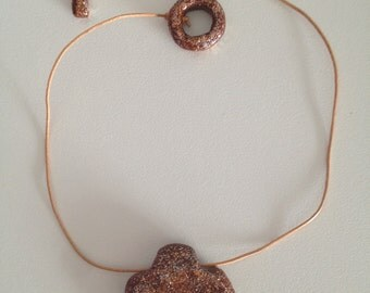 Flower Medallion necklace