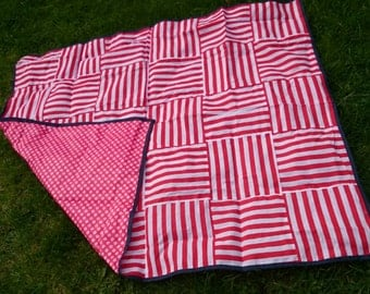 Lightweight water resistant picnic/beach blanket