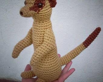 Amigurumi Meerkat Crochet Plush