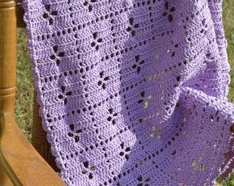 Keepsake Midwife Pattern Baby Blanket