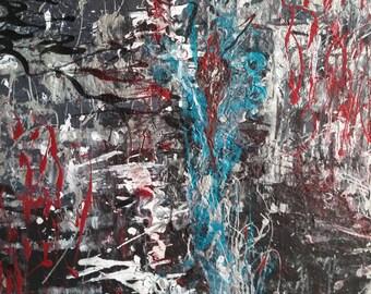 Violence, Acrylic on Canvas, 2010