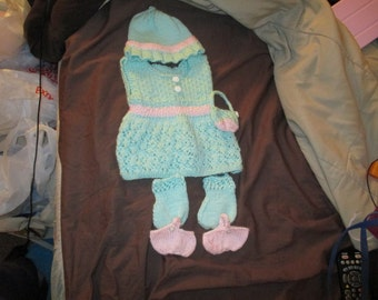 "Knitted 18"" Outfit"