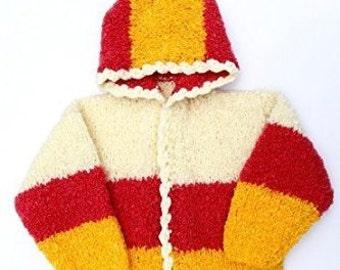 Talkingthread - Handknitted Soft Woollens (1-2 mnths)