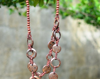 Hand Crafted  Coconut Shell Necklace