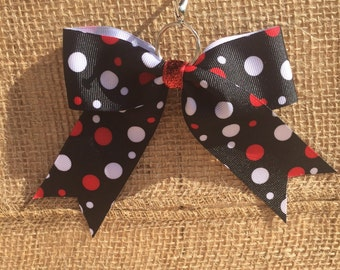 Polka Dots Back-Pack Bow