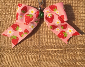 Fresh Strawberries Back-Pack Bow