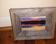 Barn-Wood Picture Frame 4X6 inch