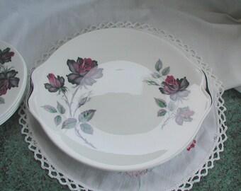 Royal Albert Masquerade Fine Bone China Cake Plate Sandwich Plate 24.5cm