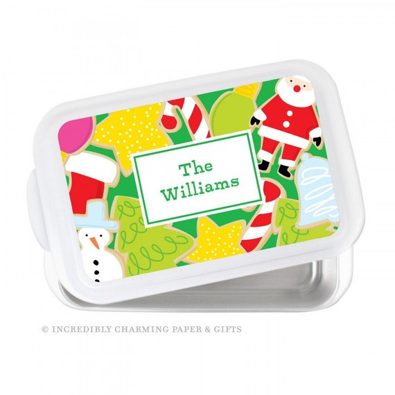 personalized serving custom casserole by