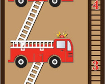 Firetruck Growth Chart