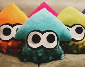 Splatoon Squids Plush Kawaii Stuffed Toy